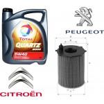 TOTAL 9000 10-40 5l + гратис филтер за масло Peugeot/Citroen HDI 1.4 Uniflux XOE110