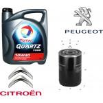 TOTAL 7000 10-40 5l + гратис филтер за масло Peugeot/Citroen 1.4 XO410 (Бензин)